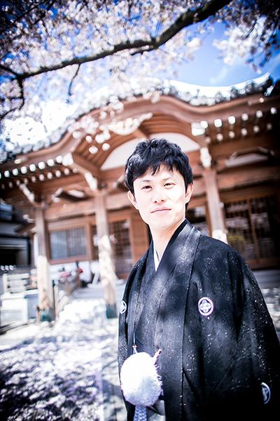 桜 結婚写真