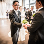 託される瞬間 〜結婚式当日の写真〜