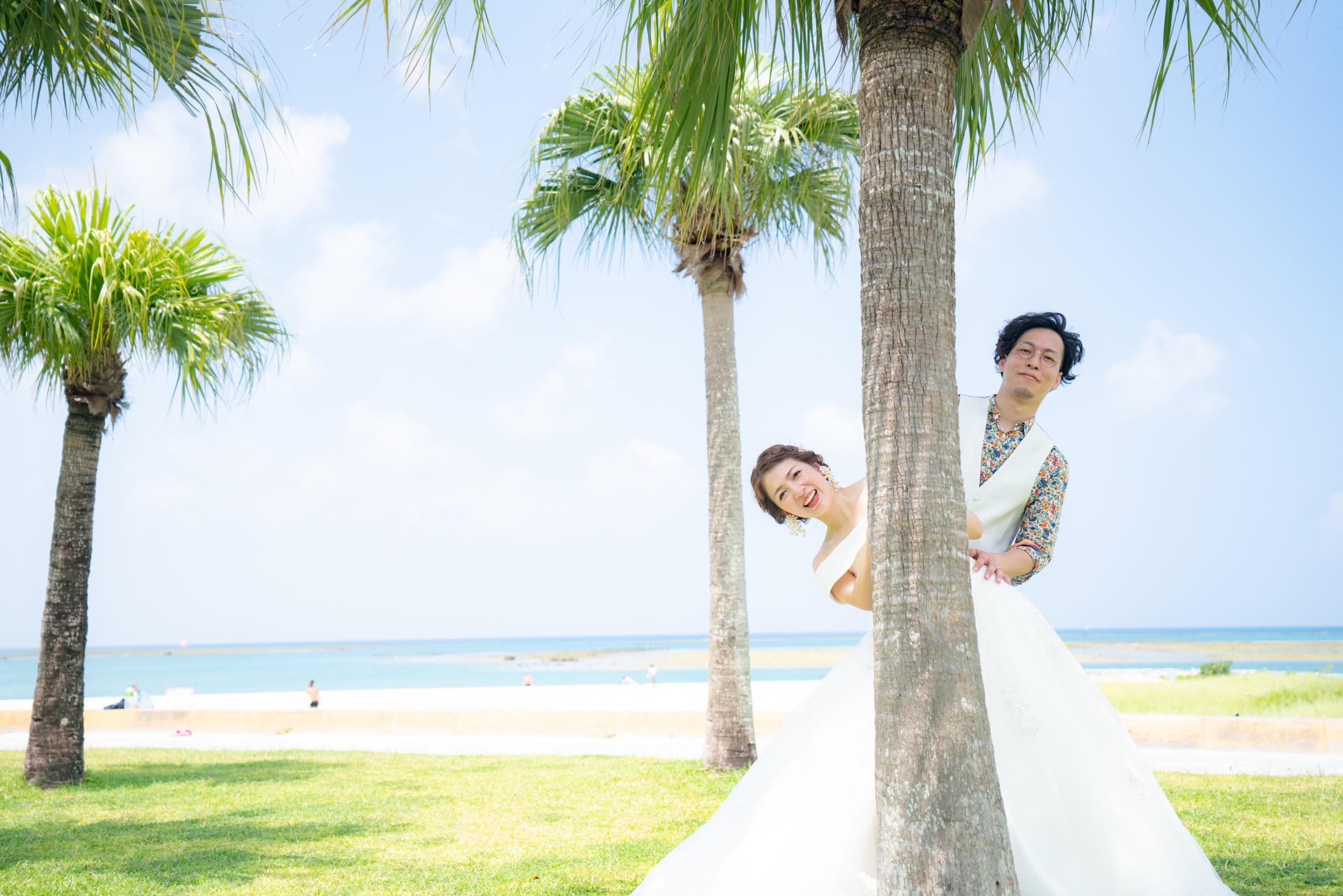 フォトウェディング,沖縄,ロケ,海