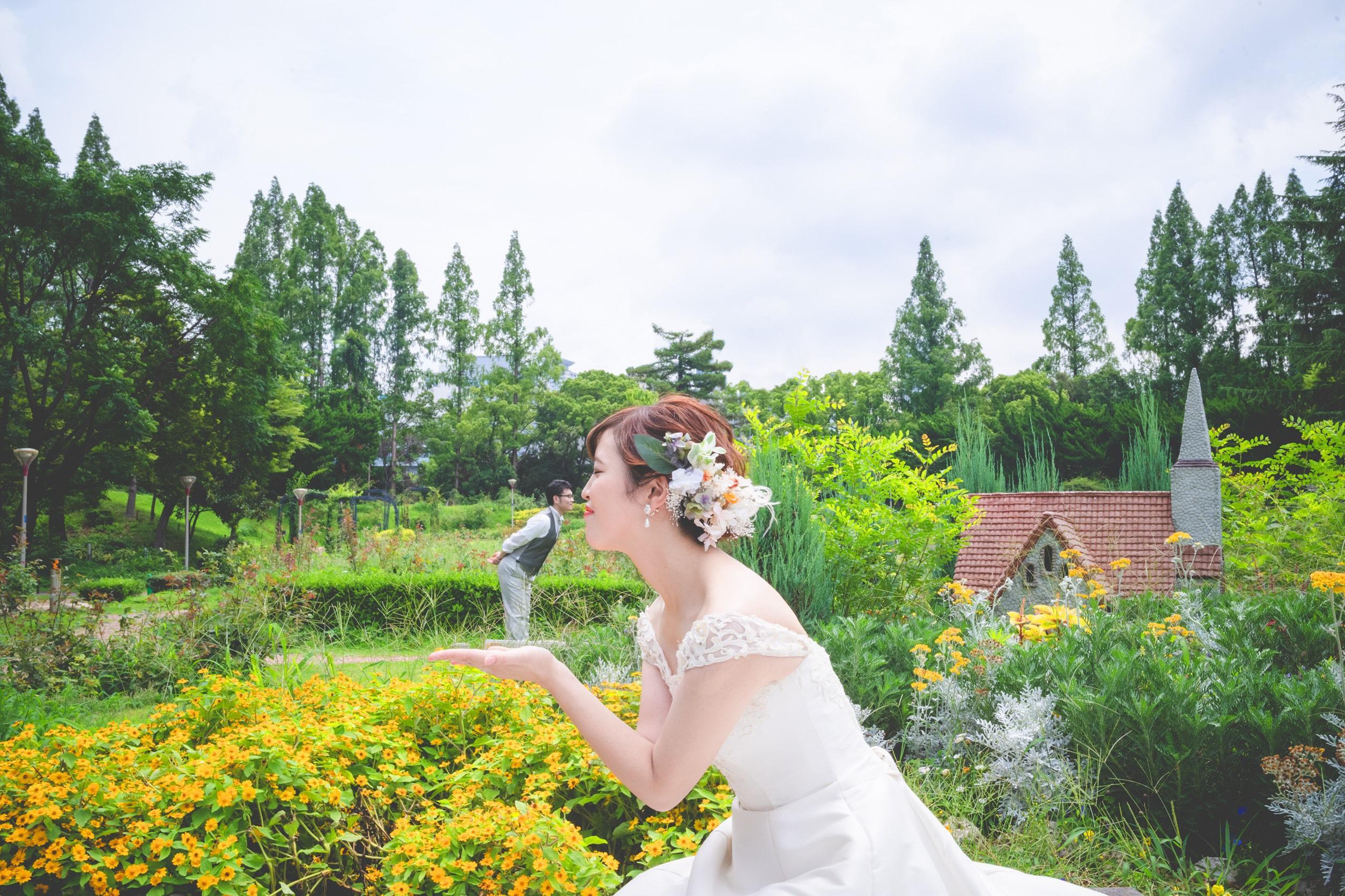 フォトウェディング,大阪,ロケ